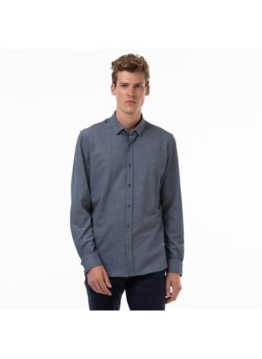 Lacoste Erkek Slim Fit Gömlek CH0953.53D Lacivert